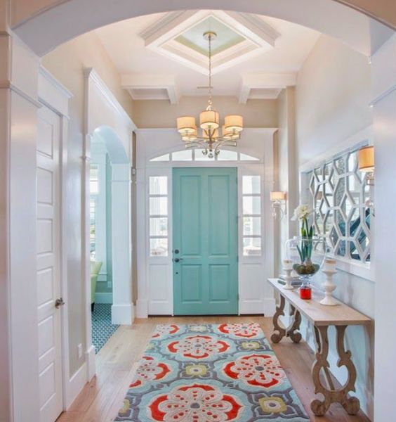 First impressions decorating your entryway greyhunt for Decorating your foyer