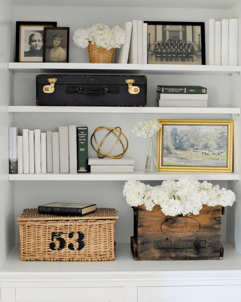 Better Styling for your Bookcases