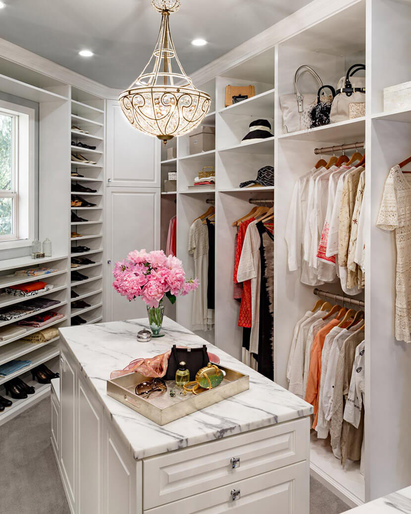 Glam Closets: from Disaster to Designer