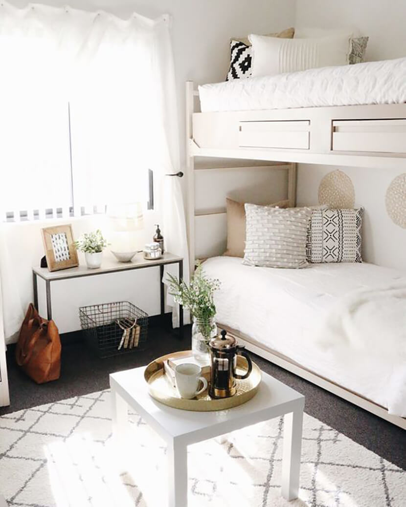 Get College Ready W/ These 10 Designer Dorm Rooms